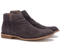IDEAL/02 Veloursleder Boots in Anthrazit