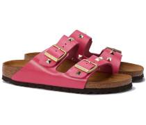 ARIZONA Sandale mit Nieten in Pink