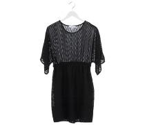 DOTILE Kleid gemustert in Schwarz