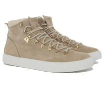 MAROSTICA MID Wildleder Sneakers in Nude