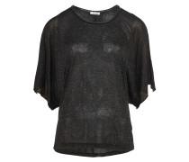 NURIA Shirt mit Fledermausärmel in Schwarz