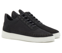 LOW TOP PERFORATED DOWN Sneakers Black