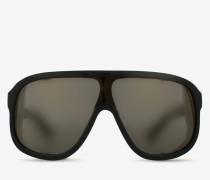 Fliegersonnenbrillen Schwarz