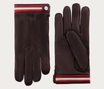 Handschuhe Aus Nappaleder Brown