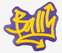 Graffiti-Sticker Aus Leder Von Bally WeiB