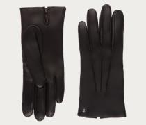 Lederhandschuhe Black