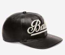 Baseballmütze Mit Bally-Logo Schwarz