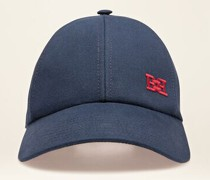 Kappe Mit Bb-Motiv Blau