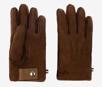 Handschuhe Aus Lammleder Braun