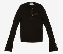 Pullover Mit Bb-Motiv Schwarz