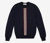 Pullover Mit Bally-Streifen Blau