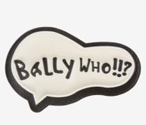 Bally Who! Leder-Sticker WeiB