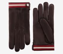 Handschuhe Aus Nappaleder Braun