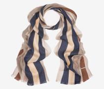 Jacquard-Schal Mit Streifen Grau