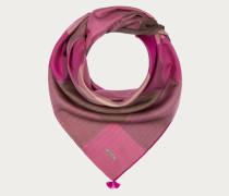 Halstuch Mit Vichykaros (90 X 90 Cm) Pink