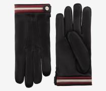 Handschuhe Aus Nappaleder Schwarz