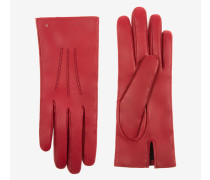 Handschuhe Mit Bally B Rot