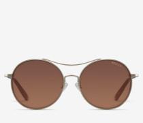 Runde Fliegersonnenbrillen Metallisch