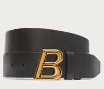 B Oblique Black