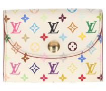 Second Hand  Kartenetui aus Monogram Multicolore Canvas