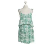 Second Hand  Seidenkleid mit Muster