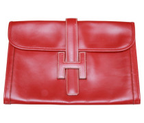 """Second Hand """"Jige"""" Clutch in Rot"""