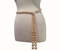 Second Hand Gürtel mit Perlen