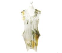 Second Hand Seidenkleid mit Blumen-Muster
