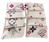 Second Hand  Vuitton rosa Schal