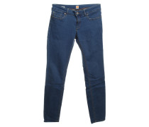 Second Hand Jeans mit Reißverschlusstaschen