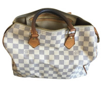 "Second Hand  ""Speedy 30 Damier Azur Canvas"""