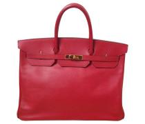 Second Hand Birkin Bag 40 in Rot