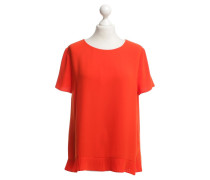 Second Hand Bluse in Orange