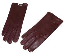Second Hand Lederhandschuhe in Braun