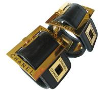 Second Hand Zwei breite Leder-Armbänder