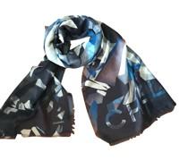 Second Hand Schal/Tuch aus Kaschmir in Blau