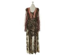 Second Hand Tunika-Kleid mit Mustermix