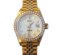 "Second Hand  ""Lady Datejust"" aus Gelbgold"
