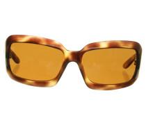 Second Hand Sonnenbrille mit Leo-Muster