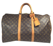 "Second Hand ""Keepall 50 Monogram Canvas"""
