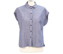 Second Hand  Bluse in Blau