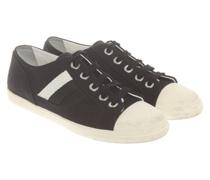 Second Hand Sneakers aus Canvas in Schwarz