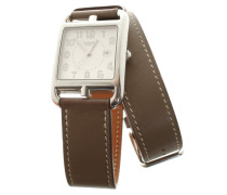 Second Hand Armbanduhr in Taupe
