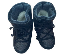 Second Hand Moon Boots mit Pailletten