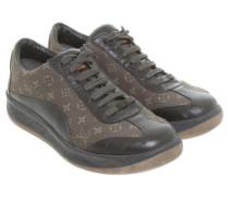 Second Hand Sneaker mit Monogram-Muster