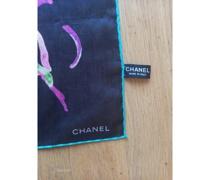Second Hand Schal/Tuch aus Baumwolle in Schwarz