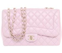 "Second Hand ""Classic Flap Bag Medium"" in Rosé"