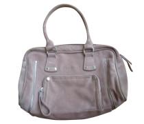 Second Hand  Handtasche aus rosa Rauhleder