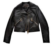 Second Hand Biker-Jacke aus Lammfell