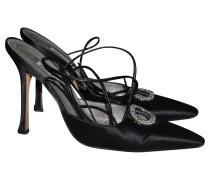 Second Hand Schuhe mit Strass
